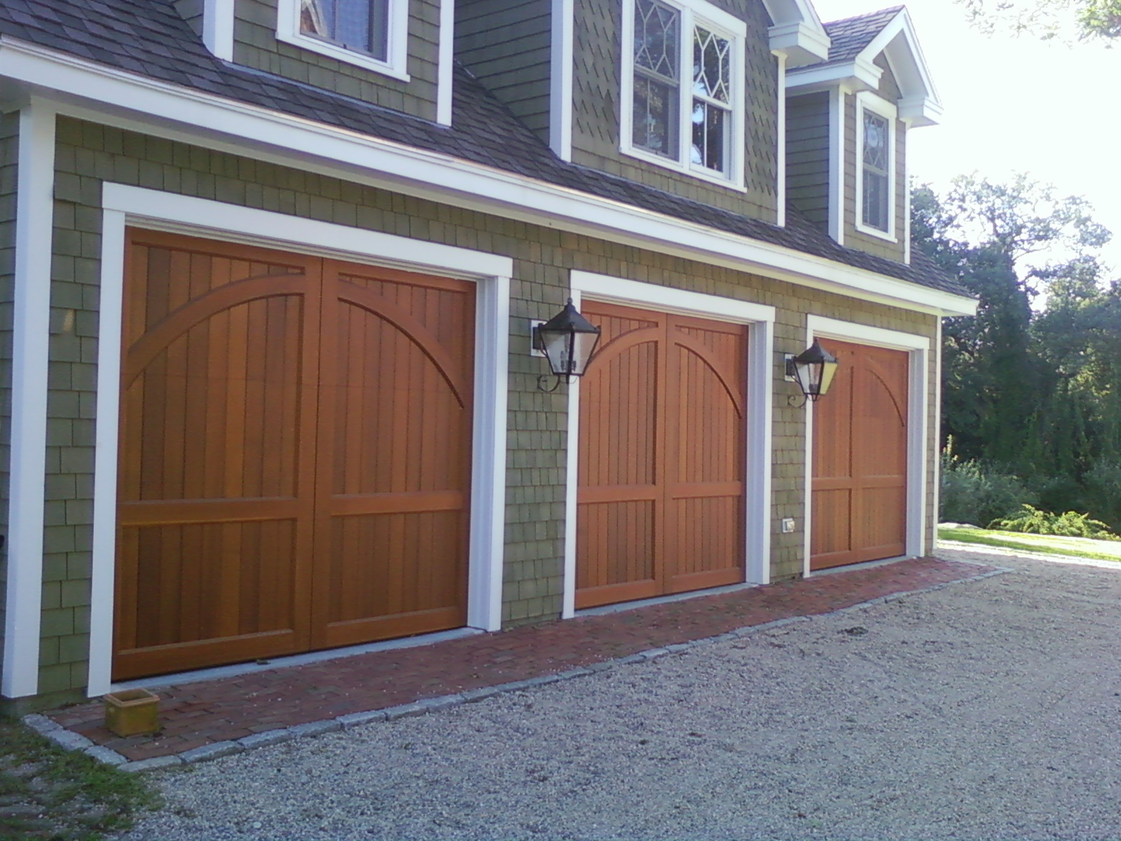 Bradco custom built carriage house doors for Build carriage garage doors